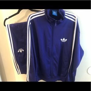 Adidas Track Suit (Matching Set in Purple)